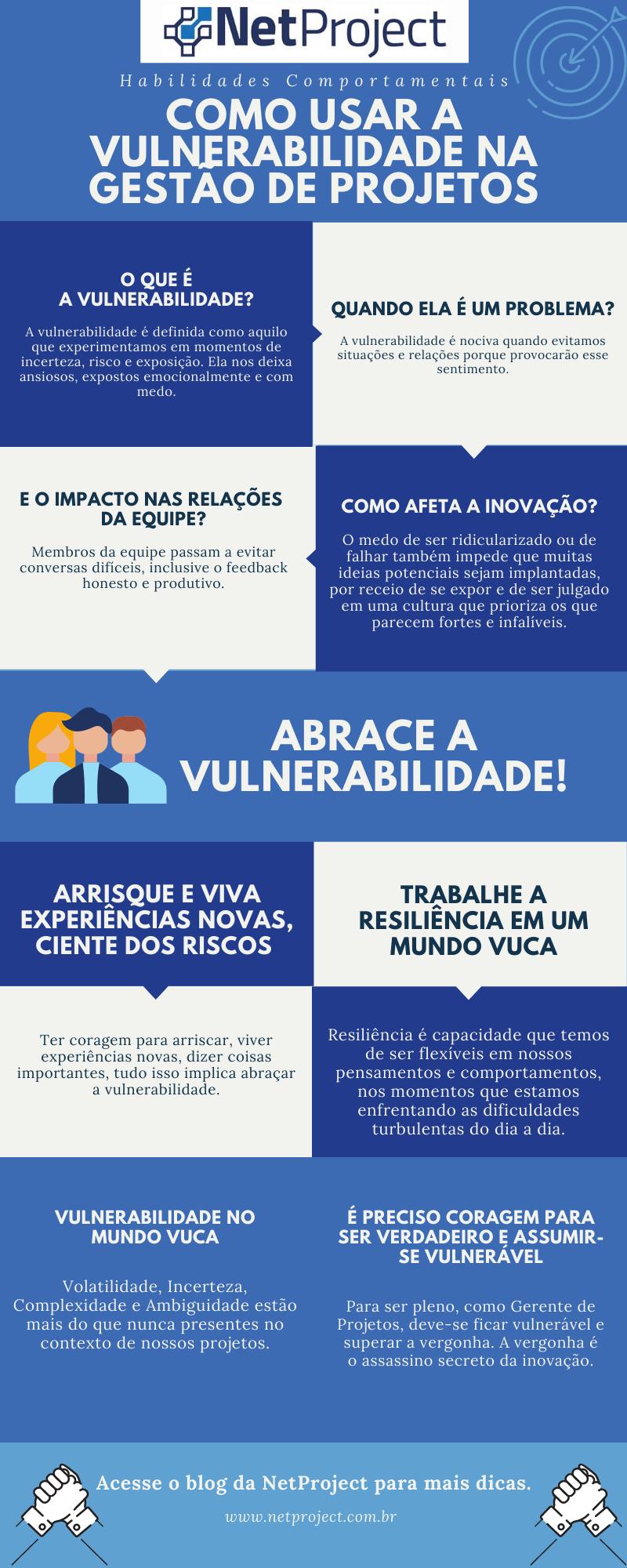 Infográfico – Vulnerabilidade